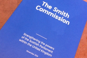 Smith Commission report cover, civilservice.blog.gov.uk