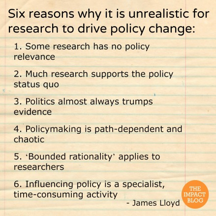 James Lloyd policy-change