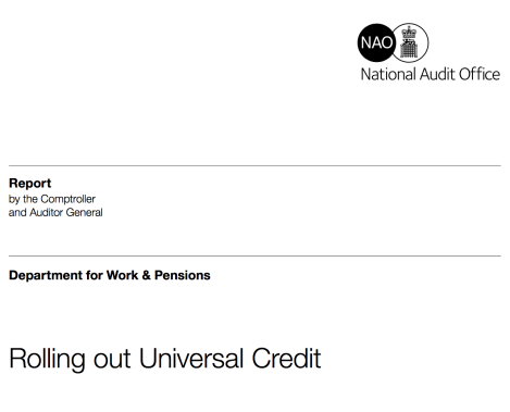 Universal Credit – When evidence becomes politicised